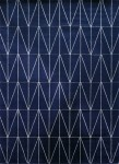 Dywan granat Navy Gold  140x200 Frost Collection geometria