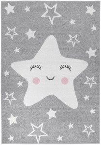 Dywan Happy Star Grey 180x270 Light Collection