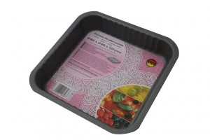 Forma do pieczenia 24x24xh5cm NON STICK