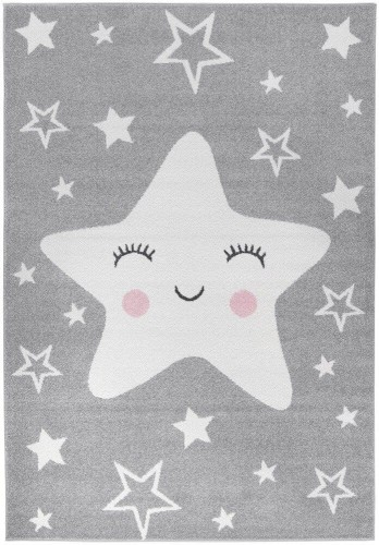Happy Star Grey 160x230 Light Collection 1