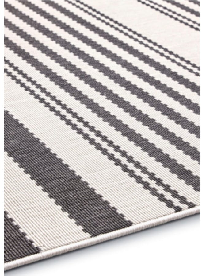 Dywan sznurkowy płasko tkany pętelka FELICITY 160x230 czarny